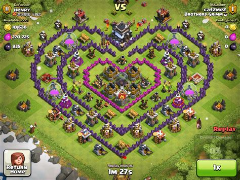 layout of coc creative base clash of clans tips and layouts