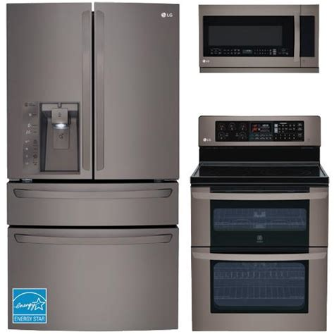 complete kitchen appliance packages lg black stainless steel complete kitchen package