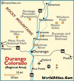 map of durango colorado and surrounding cities durango map beautiful scenery photography