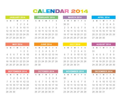 2014 Calendars Templates by Mini Calendar Template Calendar Template 2016
