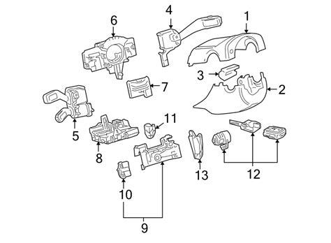 volkswagen jetta tdi sedan  tdi diesel mt combination switch steering switches