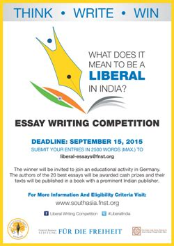 Asia Writes Essay Competition by Fur Die Freiheit Essay Writing Competition In Co Operation With Centre For Civil Society