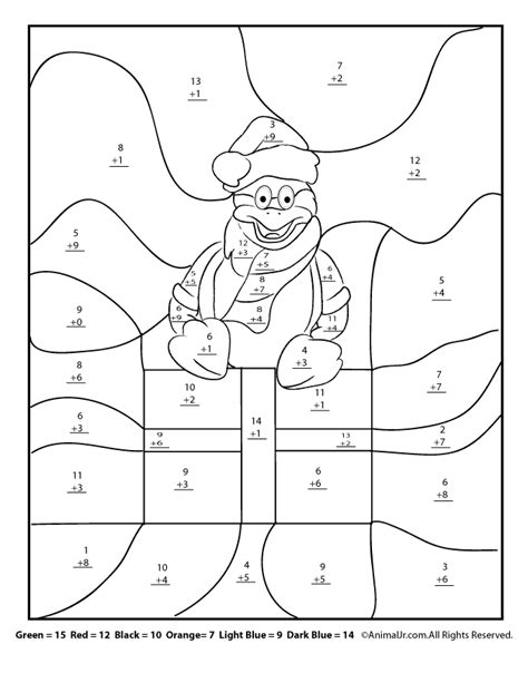 christmas coloring pages for math christmas math worksheets addition and first then logic