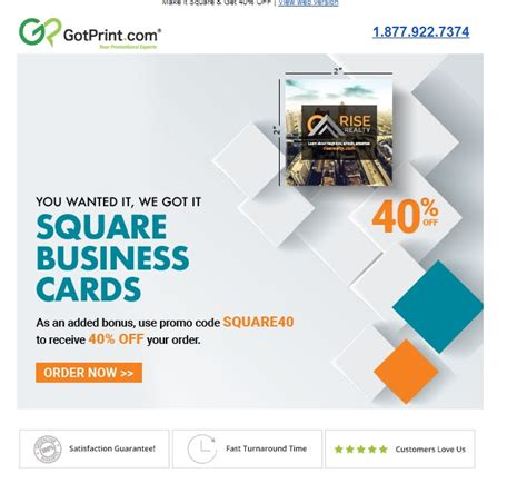 gotprint square business card template coupon gotprint cyber monday deals on sleeping bags
