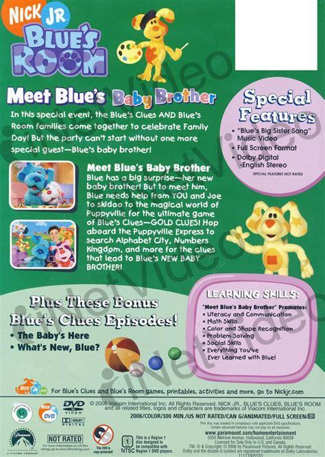 blues room dvd blue s room meet blue s baby on dvd