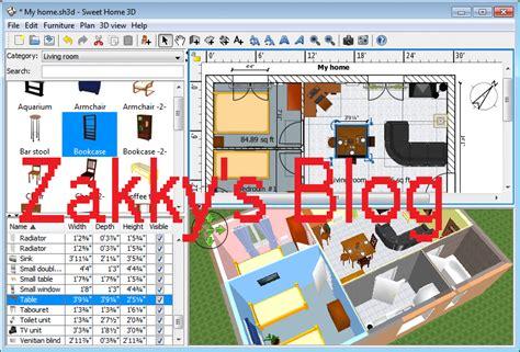 software untuk layout rumah zakky s blog software untuk membuat denah rumah desain