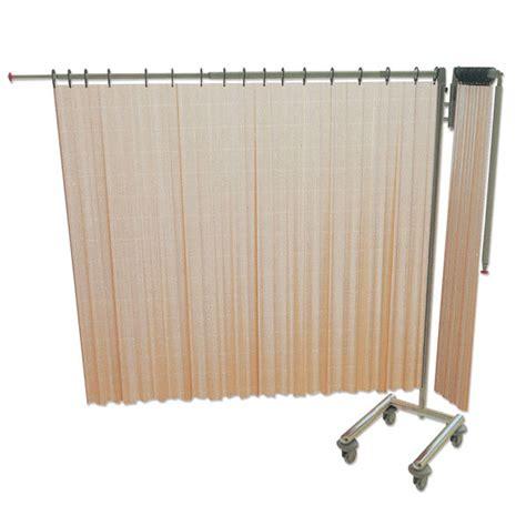 tende a carrello struttura separe pieghevole su carrello a 2 tende tende