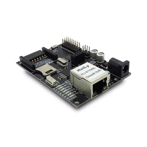 iboard arduino atmega328 board with wiznet poe ethernet