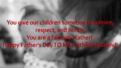 fathers day quotes from to husband happy s day messages quotes from to