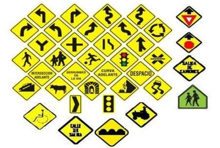 preguntas frecuentes examen de conducir colombia se 241 ales de trancito mas comunes imagui