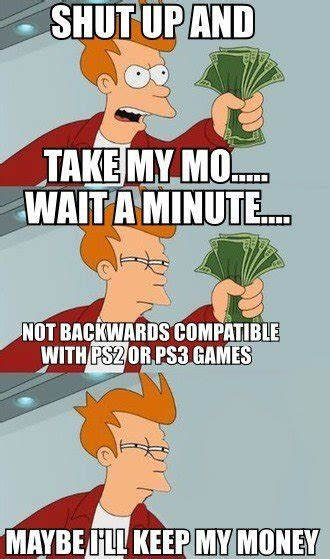 Take My Money Meme - funny videogaming pictures jokes and videos was ps4 vs
