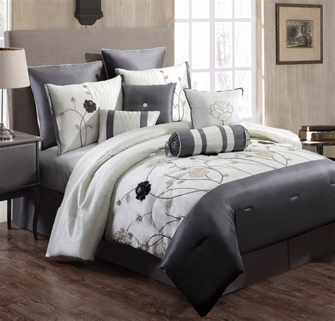 grey bedding sets the anatomy of bed comforters gray roole