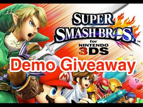 Super Smash Bros 3ds Download Code Giveaway - full download mewtwo dlc giveaway early access code 3ds winner