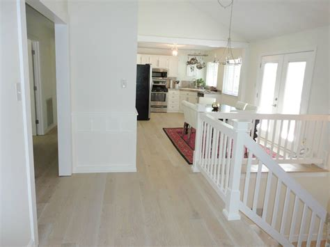 whitewashed hardwood floors livelovediy our new white washed hardwood flooring and