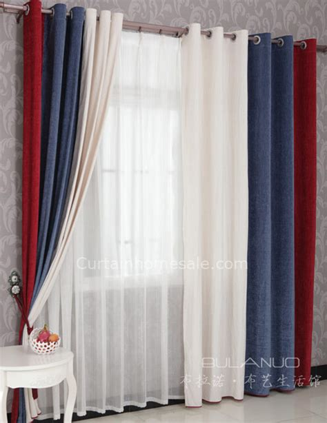 curtains for guys room boys bedroom curtains in red blue and white combined