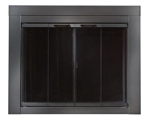 Black Fireplace Doors by Ardmore Black Fireplace Doors Small Replacement