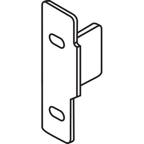 Blum Zsf 1510 05 Metabox Left Hand Narrow Front Fixing