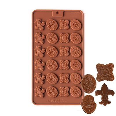 Fancy Mold fancy medallions silicone chocolate mold