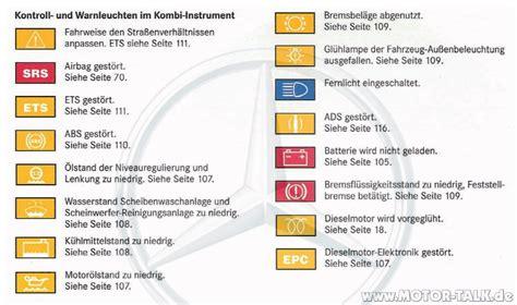 Kontrollleuchte Auto Mit Maulschl Ssel kontrollleuchten auto kontrollleuchten im auto