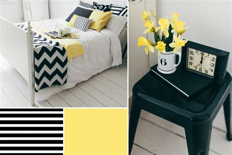 black white and yellow bedroom yellow bedroom decor