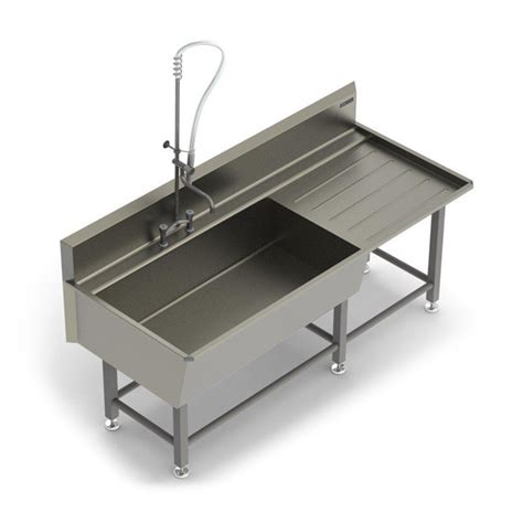wash sink utensil wash sinks with draining board cm process solutions