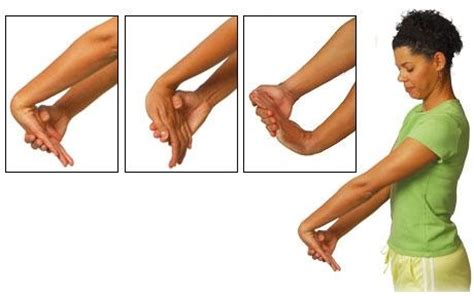 your wrists to your arms and now to your hair scuncis hair wrist hand exercises active care physiotherapy clinic