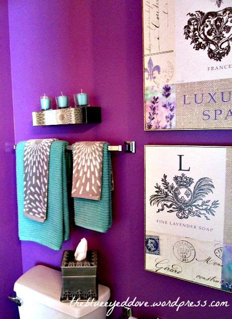 grey and purple bathroom ideas purple bathroom decorating with purple turquoise and