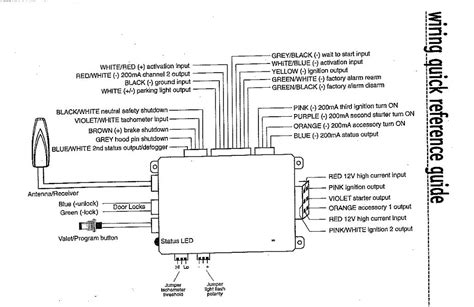 viper 5901 wiring diagram viper 5904 installation diagram