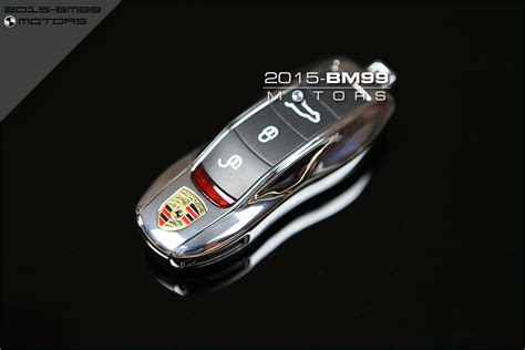 chrome fob remote key replacement for porsche