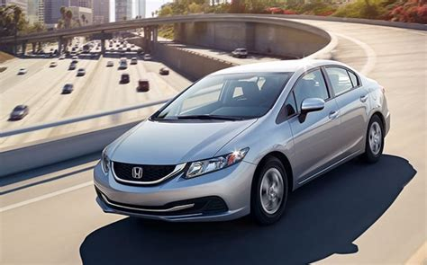 2014 honda civic overall nhtsa safety rating 5 9 new cars offering 5 safety for 20k