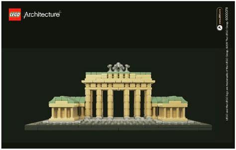 Lego 21011 Architecture Branderburg Gate lego brandenburg gate 21011 architecture