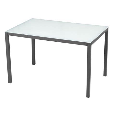 mesa de piedra leroy merlin mesa de acero y vidrio zahara rectangular ref 17803982