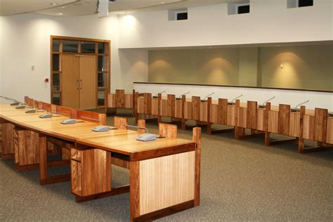 Custom Made Tables Central Highlands Shire Council Chambers Roy Schack Fine