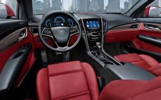 Cadillac Ats Seats Cadillac Ats Vs Bmw 3 Series Motor Trend