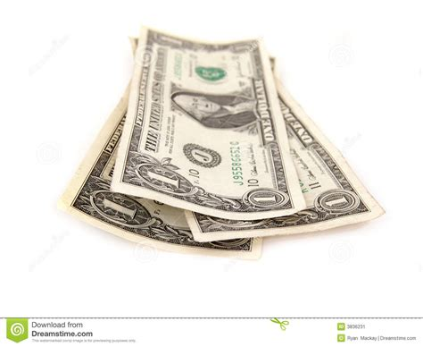 three one three one dollar bills stock image image 3836231