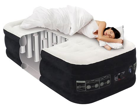 king koil twin size upgraded luxury raised air mattress