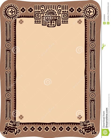 mexican frame royalty  stock  image