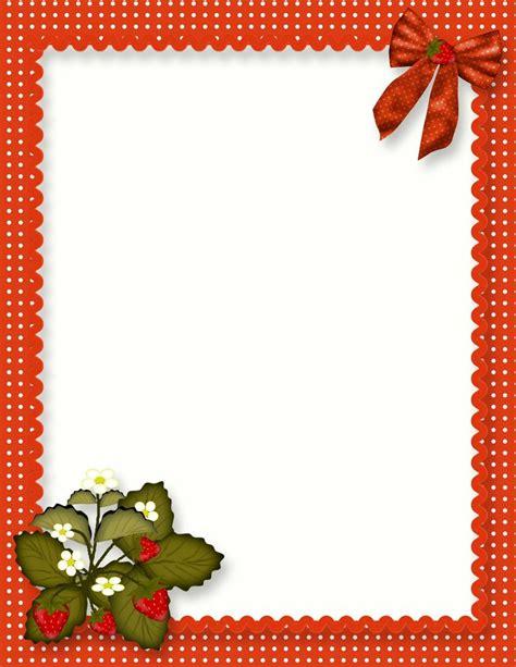printable decorative recipe cards free blank quick page strawberry recipe page recipe