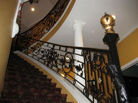Banister Guards by Guard Rail Baluster Metal And Iron Artistry Llc