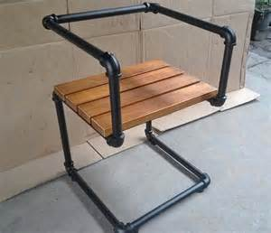 Iron Pipe Furniture 5 Industrial Style Pipe Chairs Amp How To Build Them