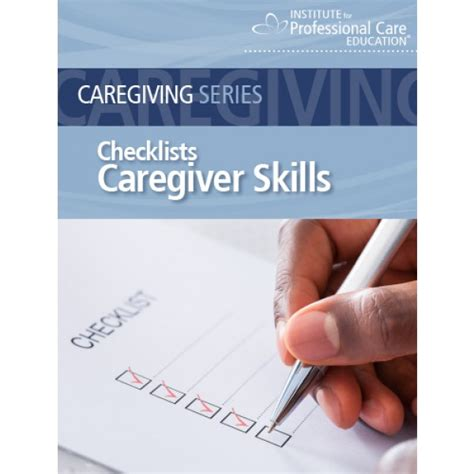 senior care skills checklists oncourse learning healthcare