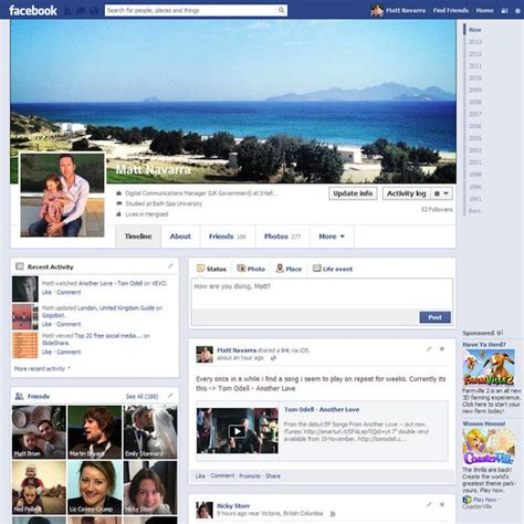 yahoo layout change 2015 the changing faces of facebook the dbwd blog