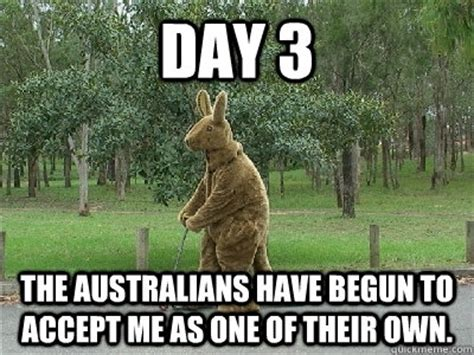 Funny Australia Day Memes - as an american with insomnia meme guy