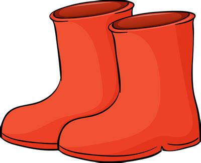 cartoon red boat boots free clipart clipart suggest