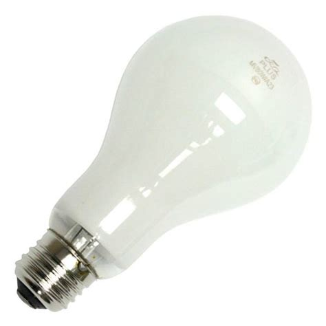 Lu Mercury 80 Watt plusrite 02309 mercury vapor light bulb