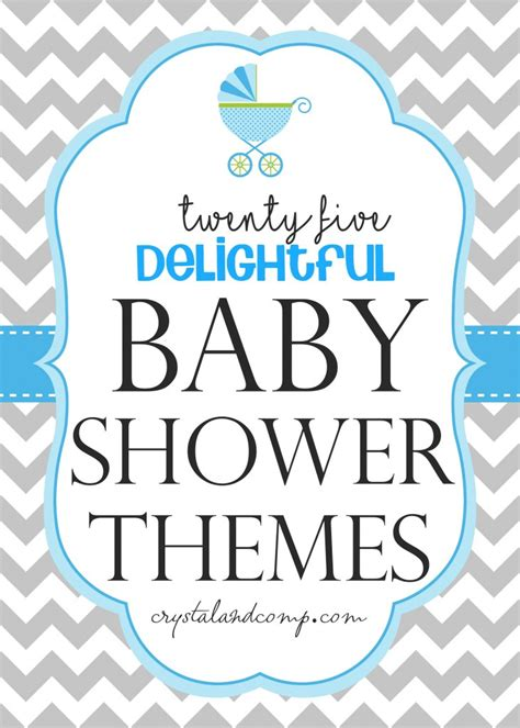 Themed Baby Shower Ideas by Baby Shower Trivia