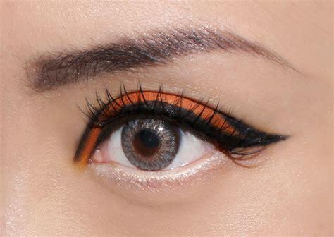 Eyeshadow Viva Orange fotd orange graphic eye makeup look makeup