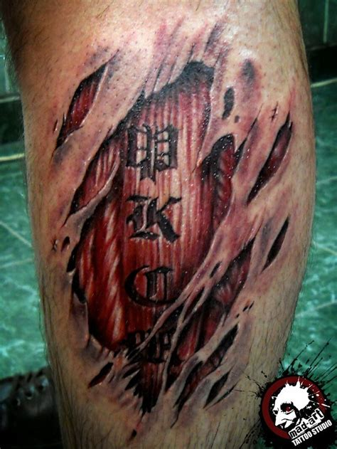 torn skin tattoo designs free 17 best ideas about torn skin tattoos on flesh