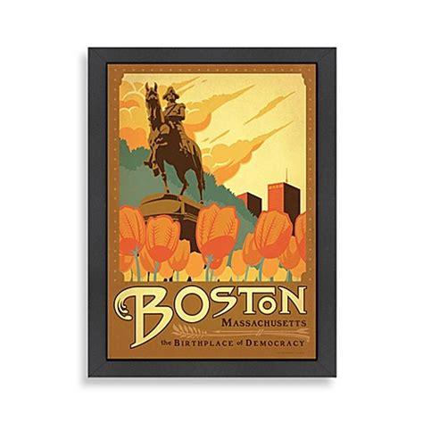 bed bath and beyond boston americanflat boston framed wall art bed bath beyond