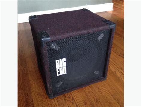 bag end bass cabinet bag end s15 d 15 quot bass cabinet city